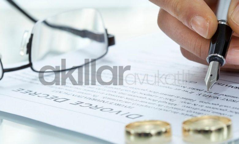 Boşanma için gerekli evraklar